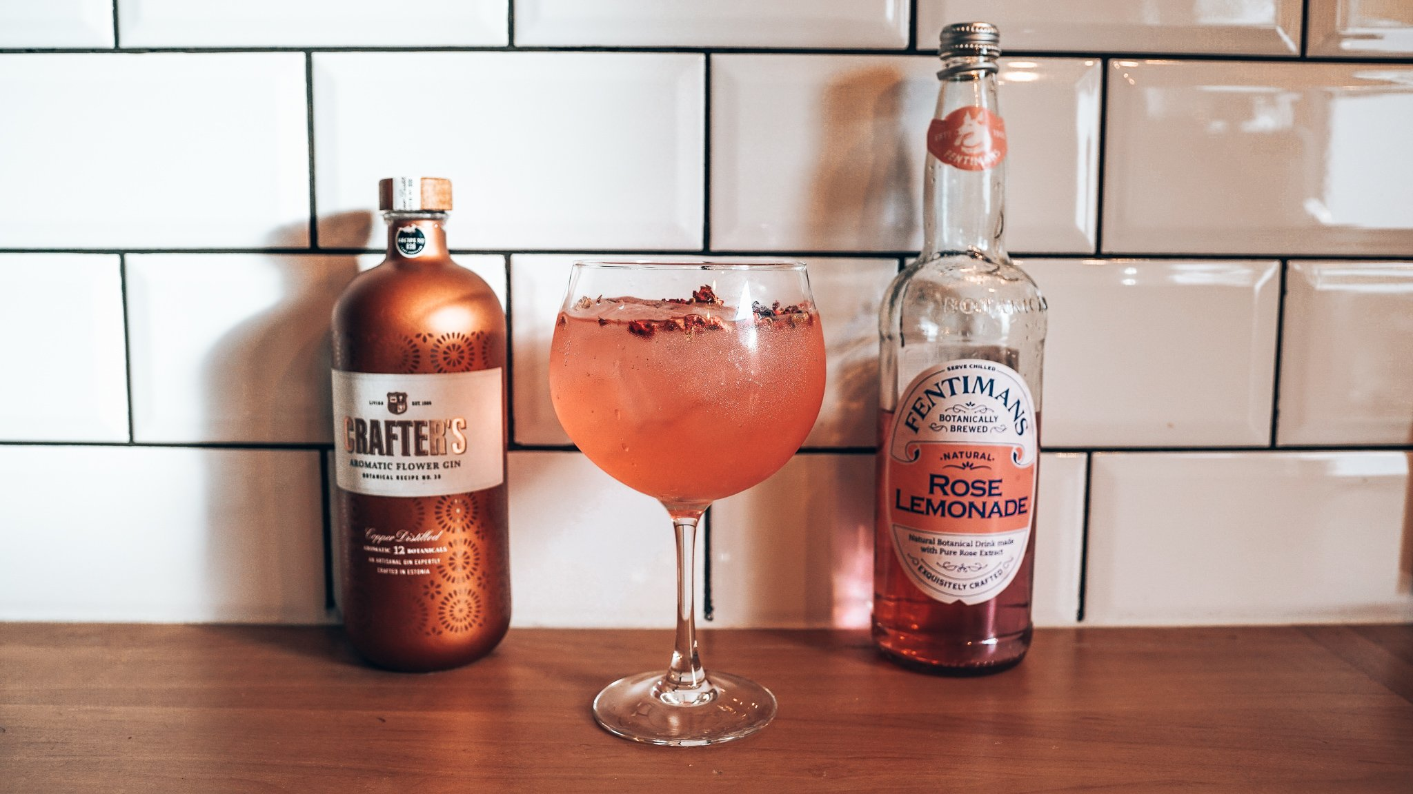 Recept Rose Craft, Alles over gin.