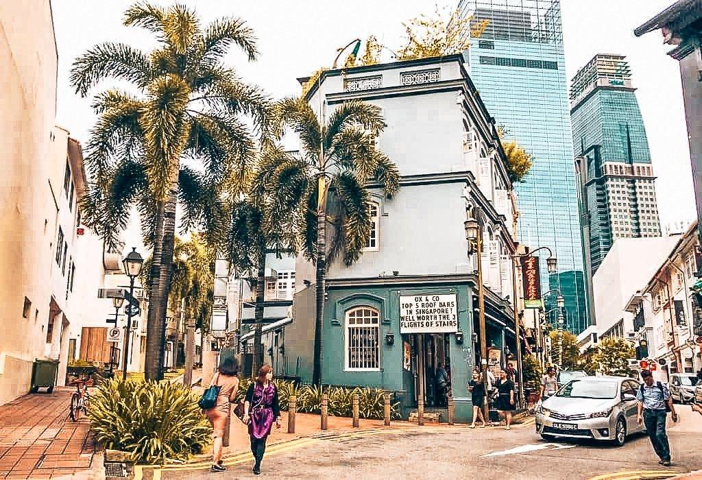 Straat waar speakeasies zich bevinden, Singapore, Alles over gin.-2
