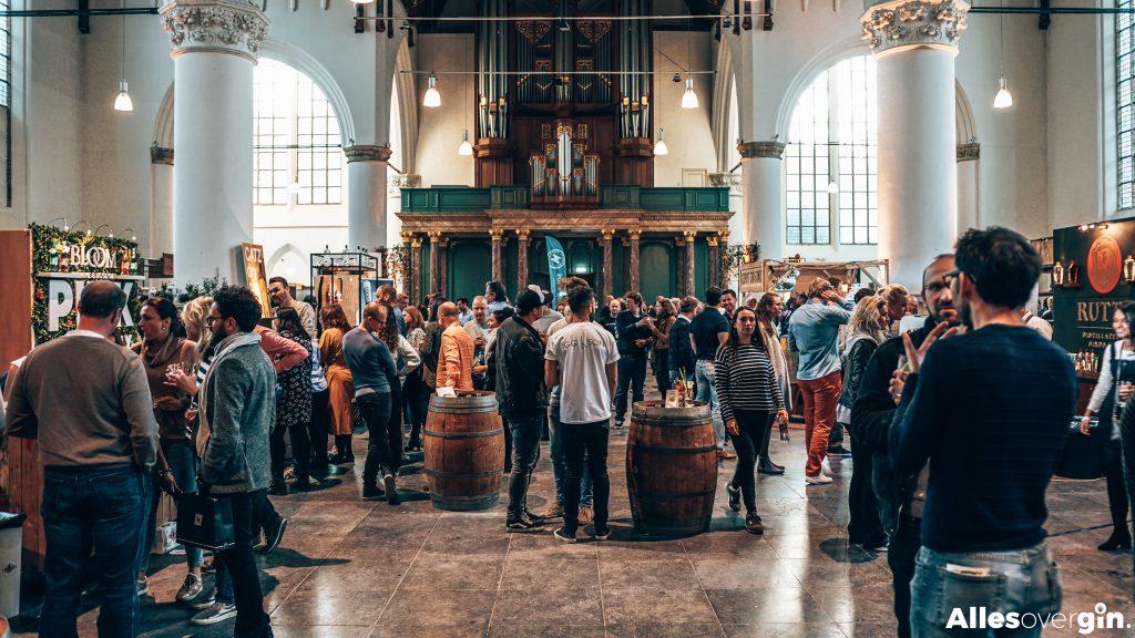 Ginfestival in de Grote Kerk in Den Haag, Alles over gin.