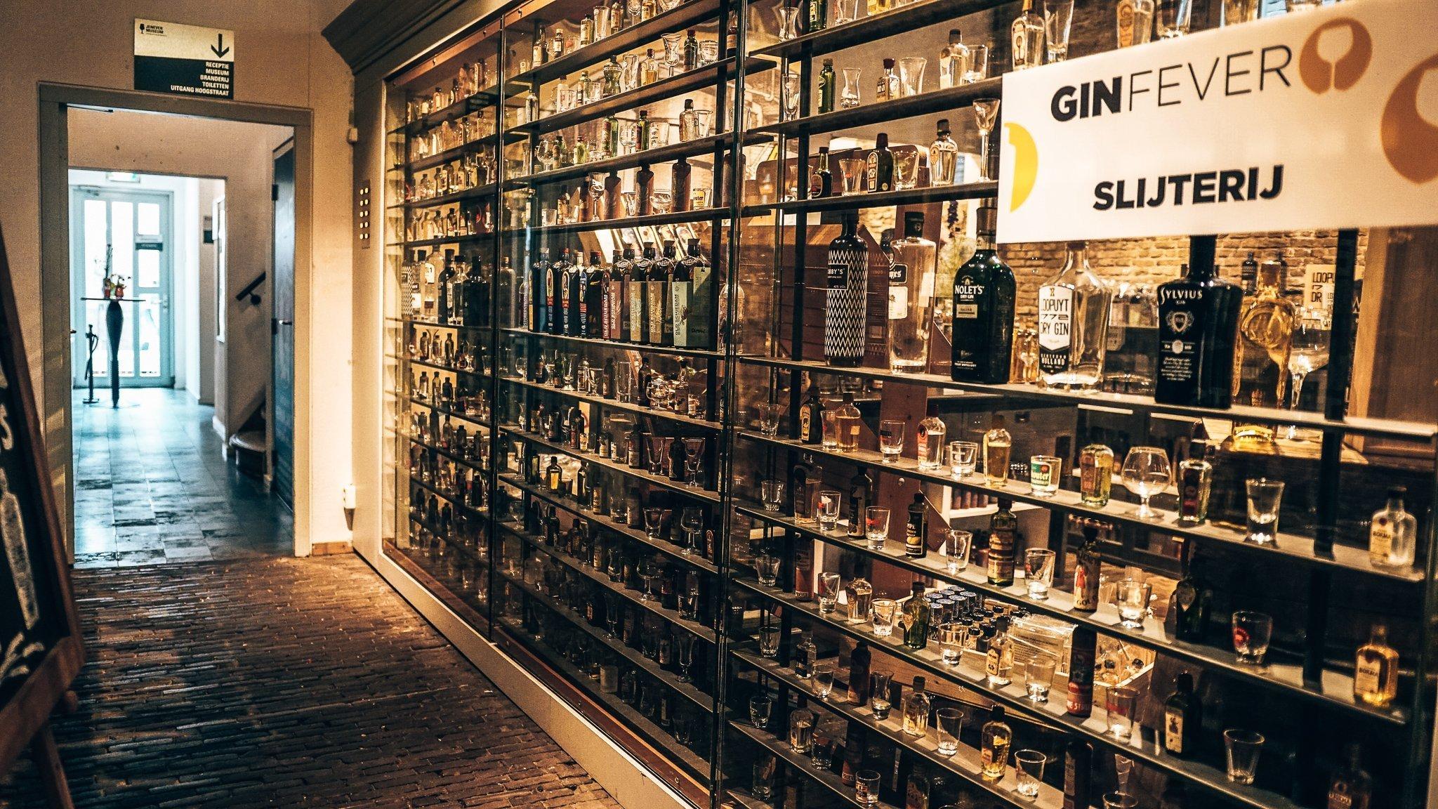GinFever slijterij, Alles over gin.