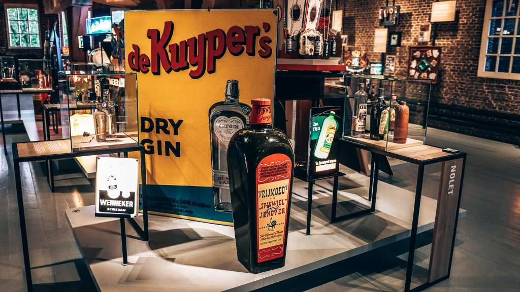 Marketing de Kuypers, Nationaal Jenevermuseum, Schiedam. Alles over gin.