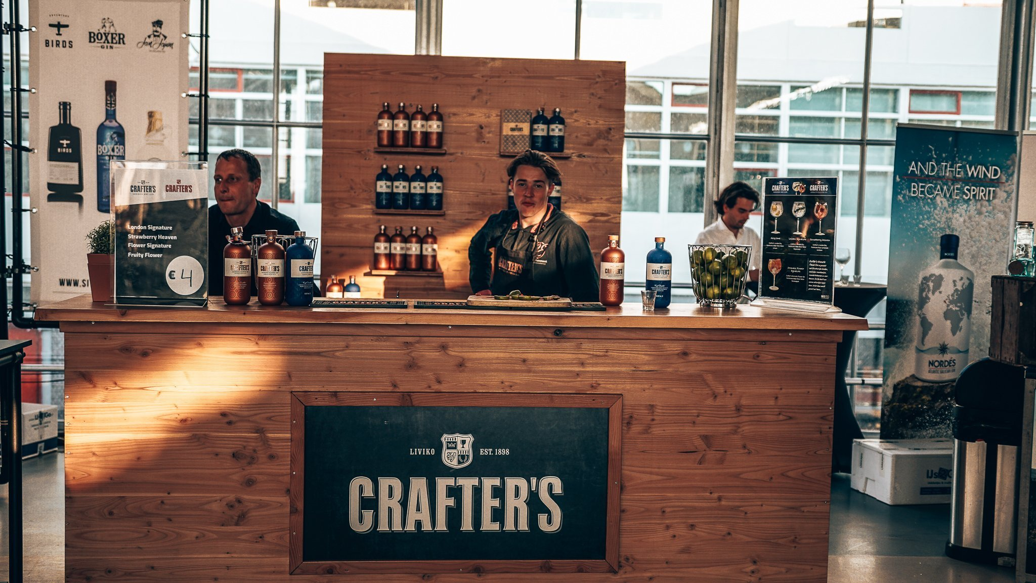 Crafter's Gin, Ginfestival Rotterdam, Alles over gin.