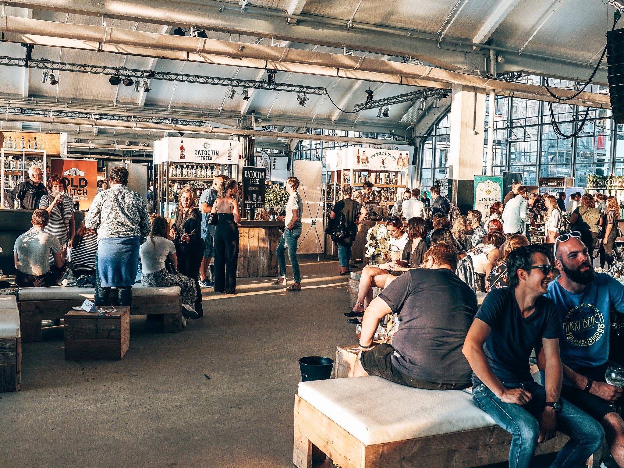 Ginfestival Rotterdam overview, Alles over gin.