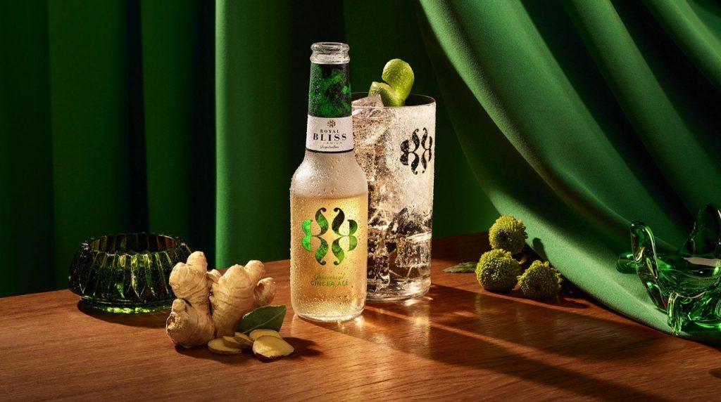 Ginger Ale, Royal Bliss, Alles over gin.