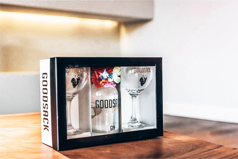 Goodsack geschenkverpakking Summer, Alles over gin.
