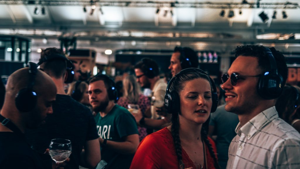 Loopuyt Silent Disco, Ginfestival Rotterdam, Alles over gin..02