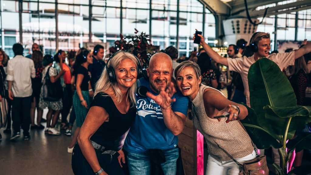 Loopuyt Silent Disco, Ginfestival Rotterdam, Alles over gin..04