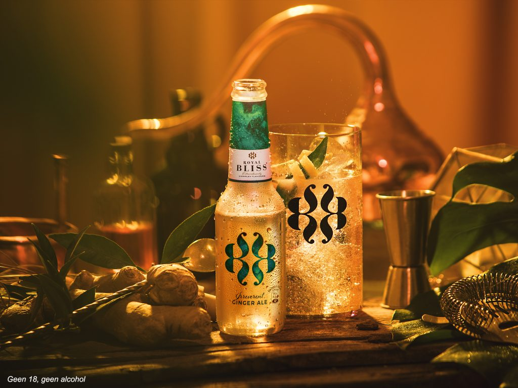 Royal Bliss Ginger Ale, Alles over gin.