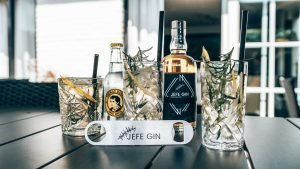 JEFE Gin met perfect serves, Alles over gin.