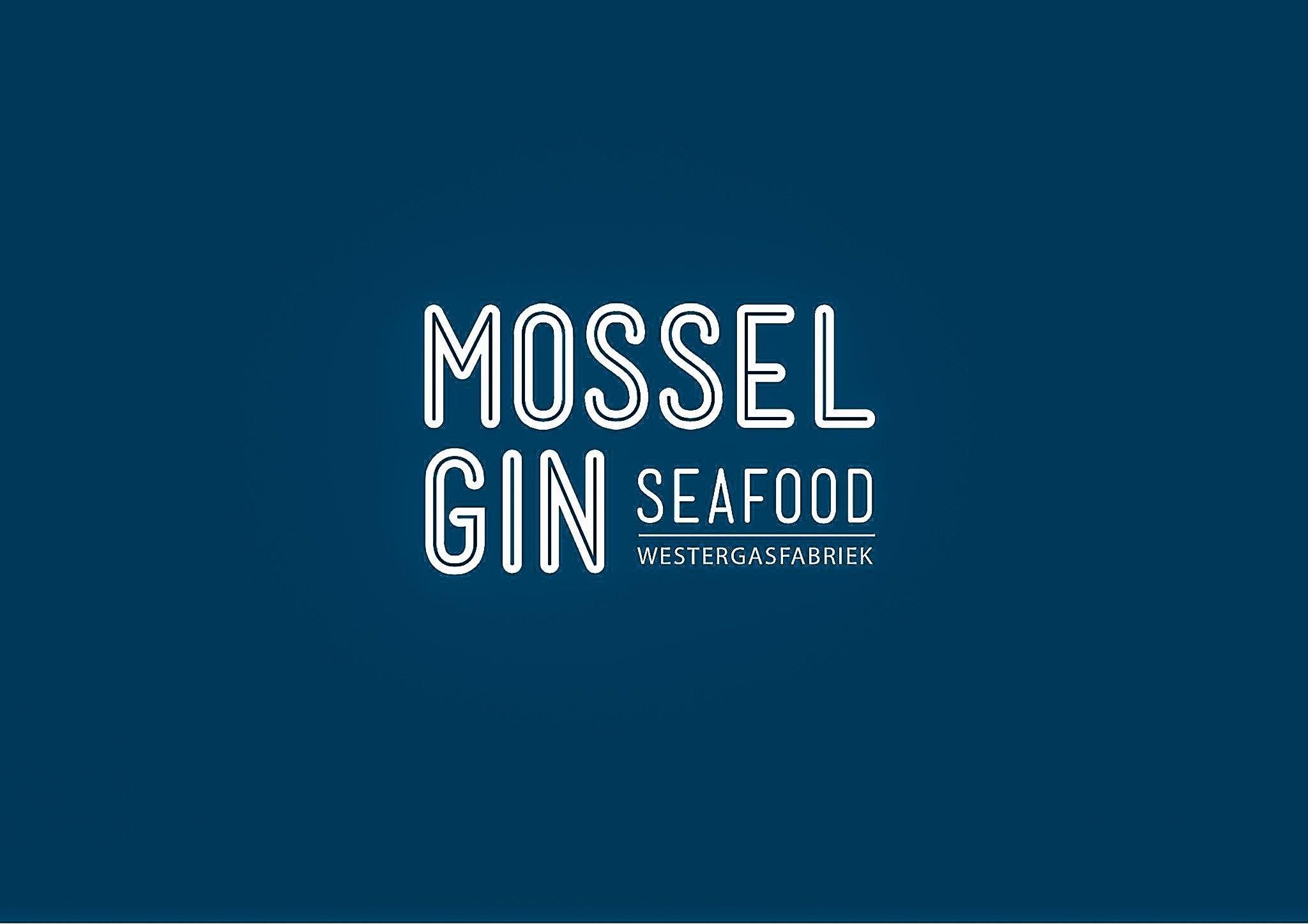 Mossel & Gin logo, Alles over gin.