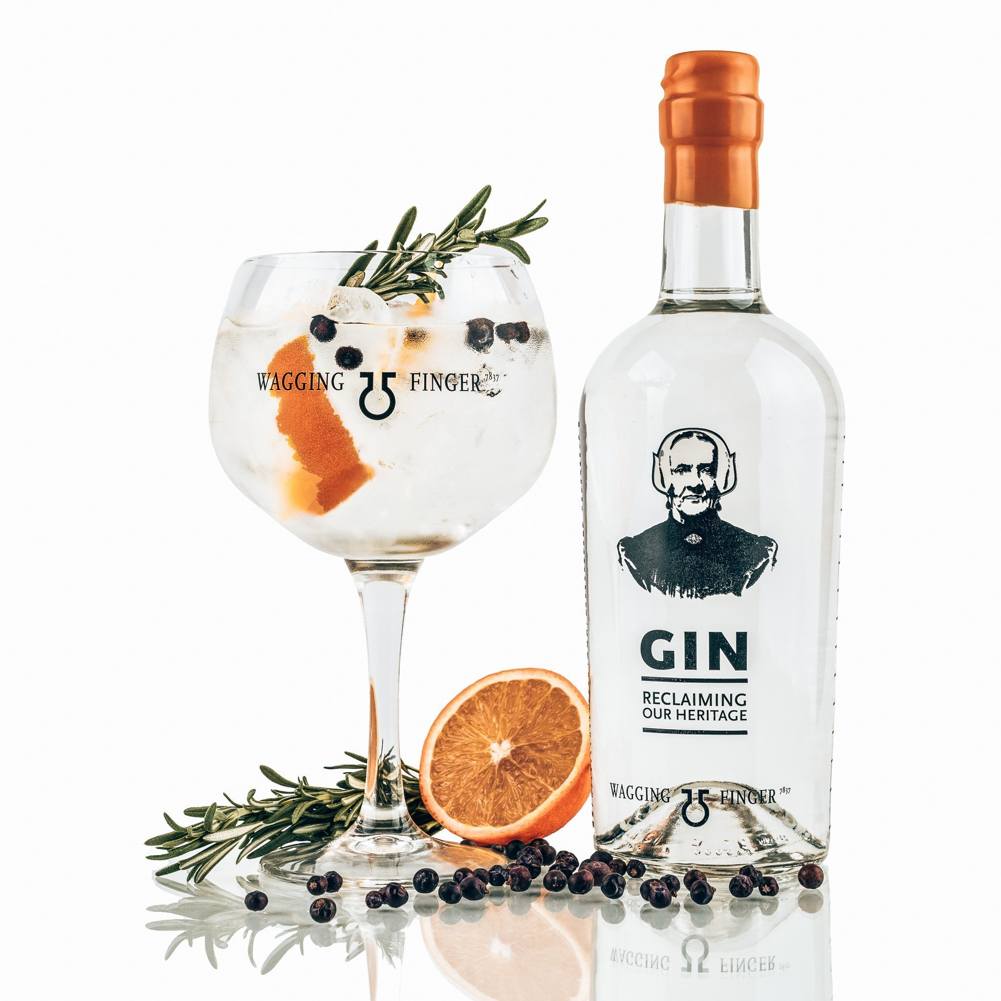 Perfect serve Wagging Finger Gin, Alles over gin.