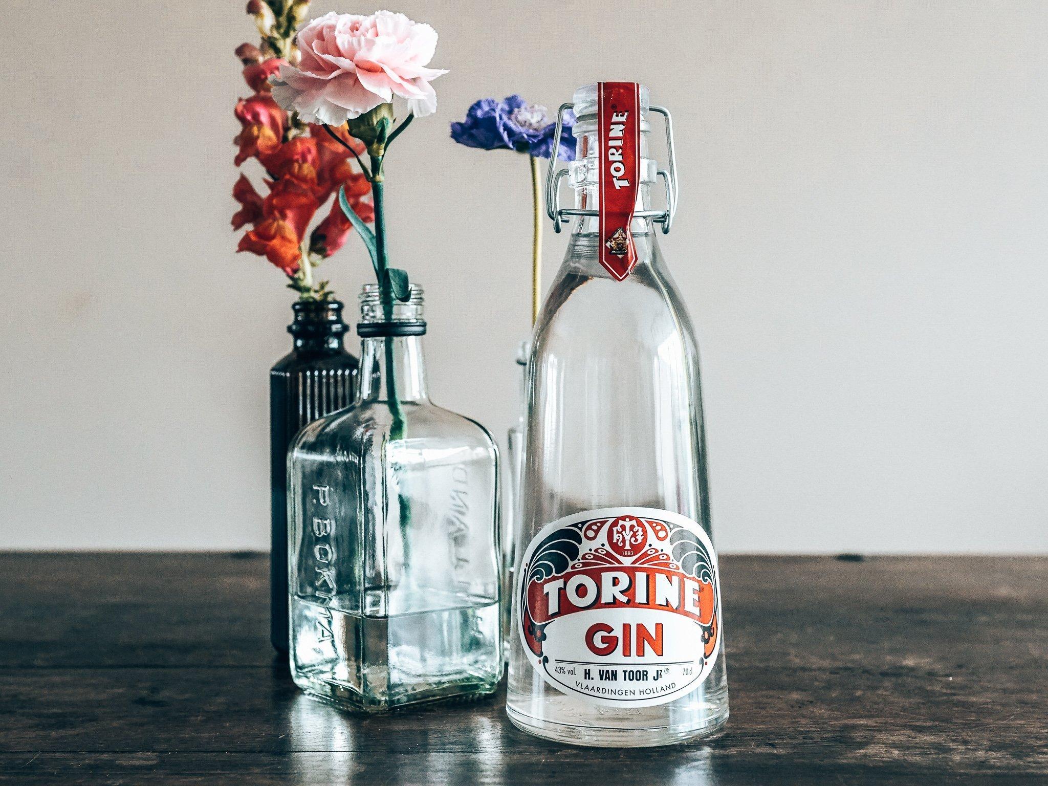 Torine Gin met bloemen, Alles over gin.