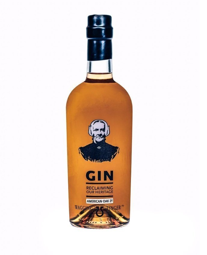 Wagging Finger American Oak 2Y Gin, Alles over gin.