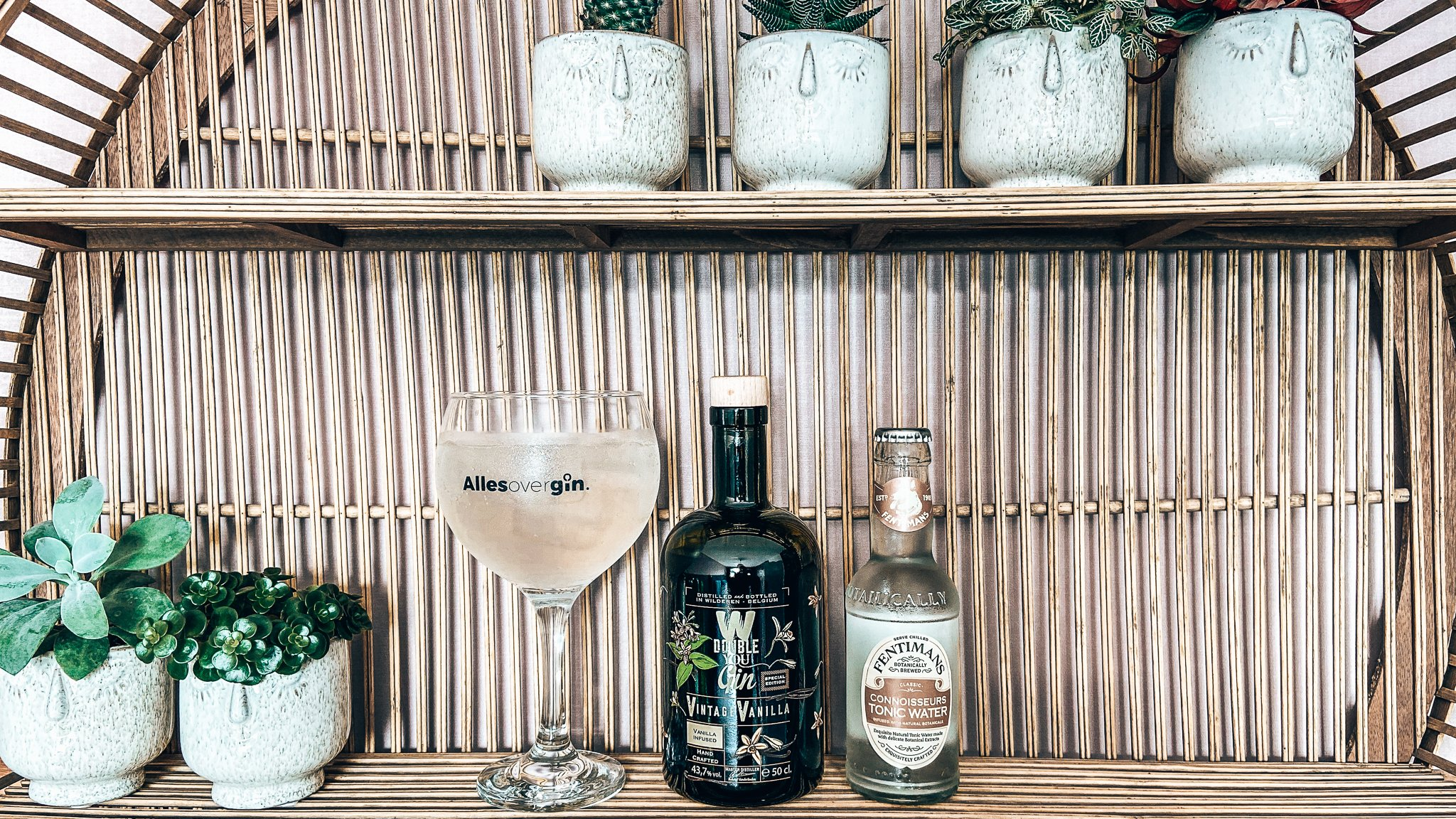 Wilderen Double You Vintage Vanilla Gin, Recept GT Vanilla, Alles over gin.