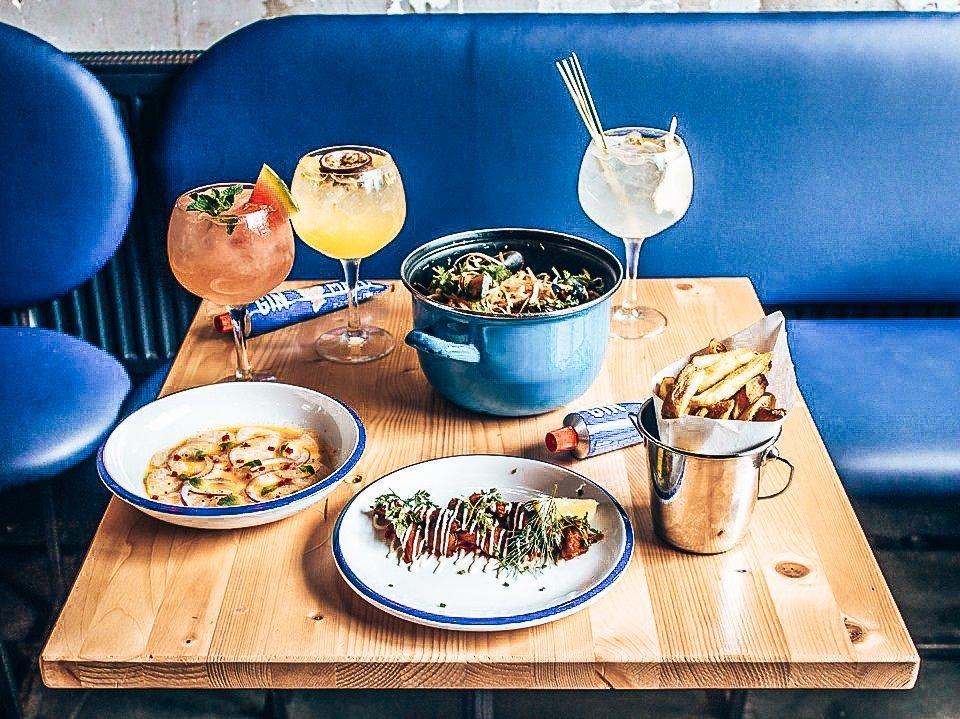 Dineren bij Mossel & Gin, Amsterdam, Alles over gin.