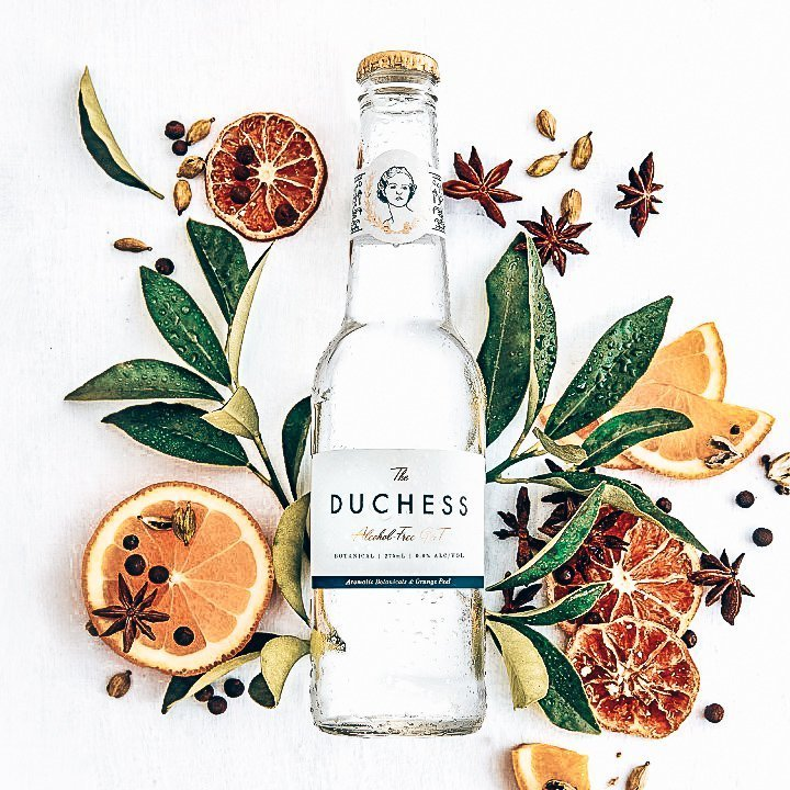 The Duchess Botanical, met botanicals, Alles over gin.