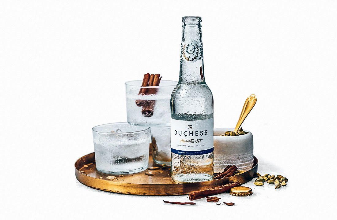 The Duchess alcholvrije gin-tonic, perfect serve The Purist, Alles over gin.