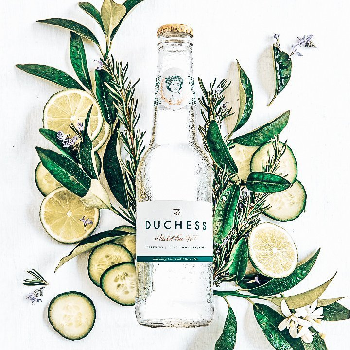 The Duchess, alcoholvrije gin-tonic, Greenery, Alles over gin.