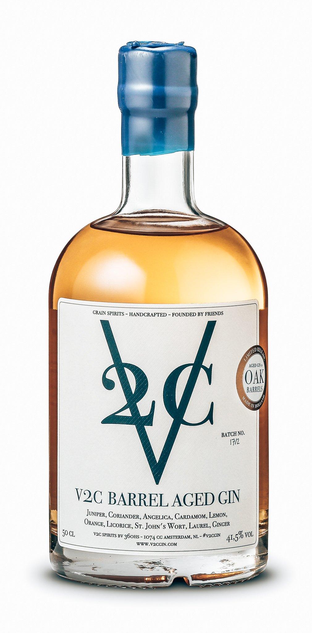 V2C Barrel Aged Gin, Amsterdam, Alles over gin.