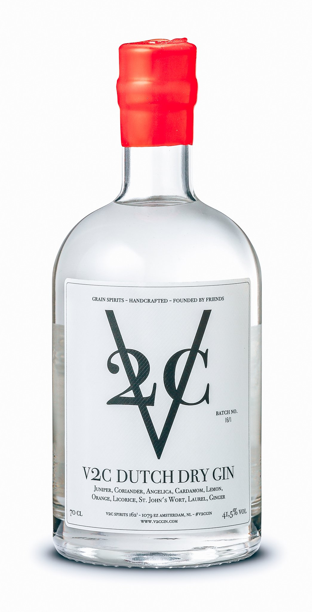 V2C Dutch Dry Gin (Classic), Alles over gin.