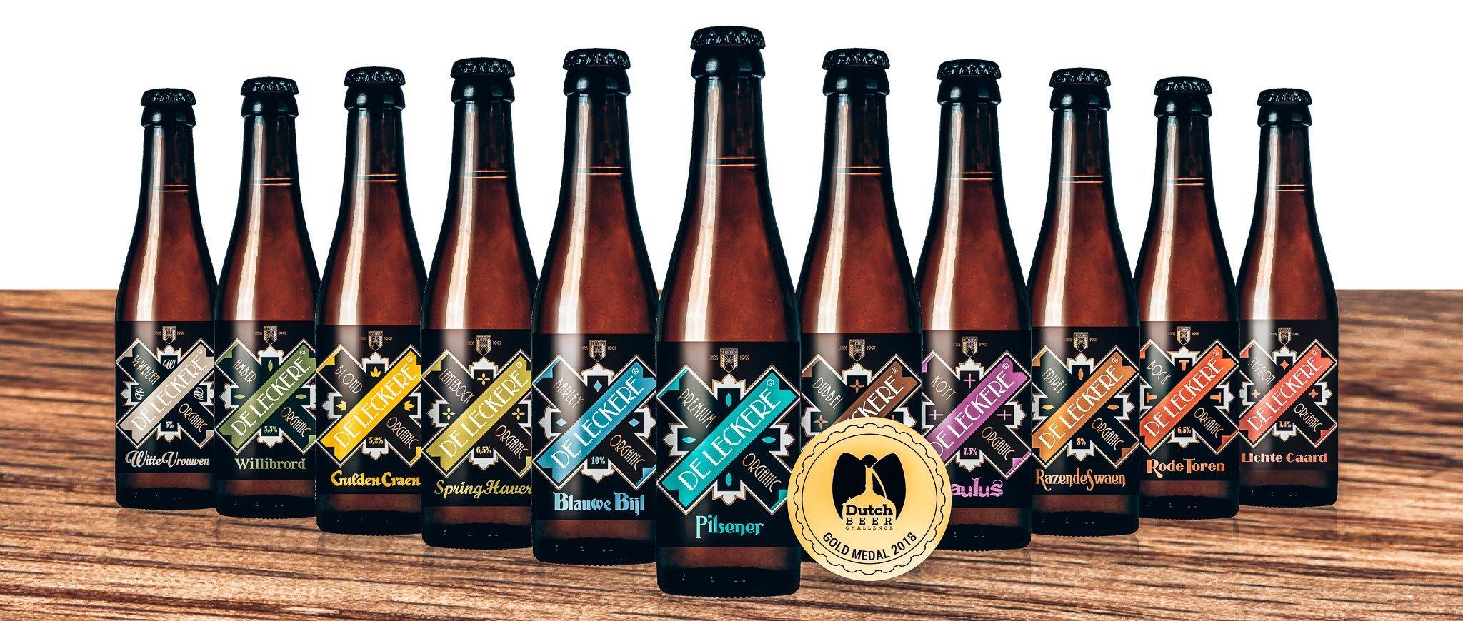 Bier collectie Brouwerij De Leckere, Utrecht, Alles over gin.