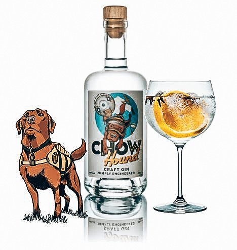 Chow Hound Gin, Driftwood Distillery, Alles over gin.