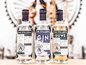 Distillaten The Stillery Amsterdam, Alles over gin.