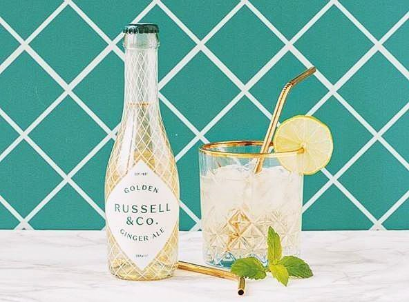 Perfect serve Russell & Co, Russel & Co Golden Ginger Ale, Alles over gin.