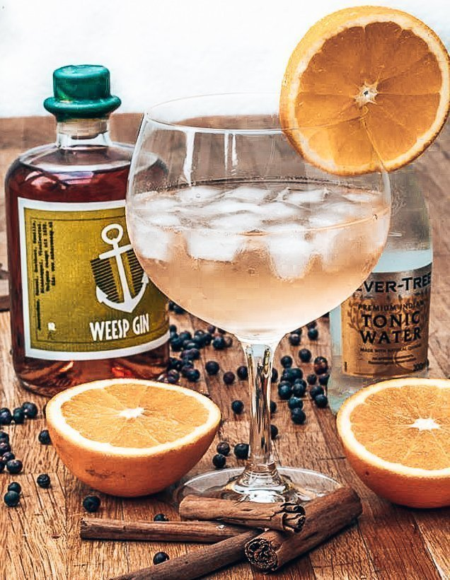 Perfect serve met Weesp Gin, Stokerij Anker Weesp, Alles over gin.
