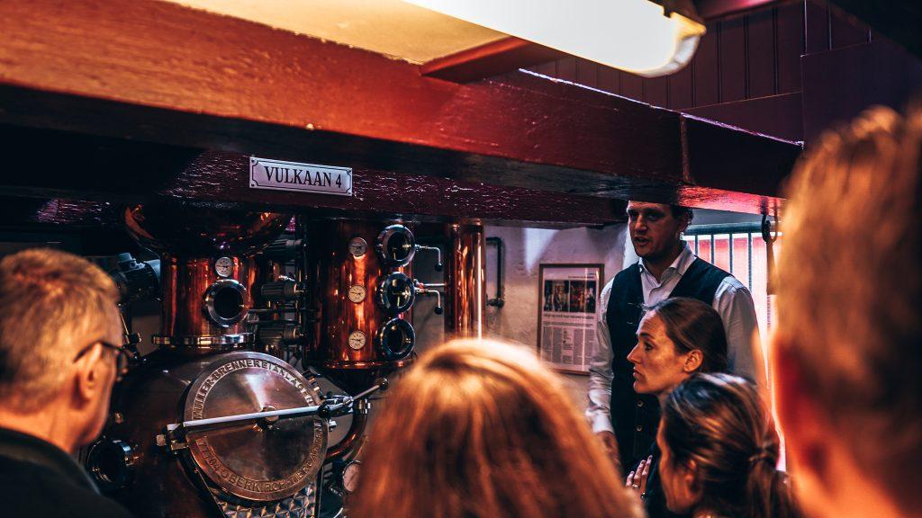 Rondleiding bij Distilleerderij Rutte, Workshop gin maken, Alles over gin.