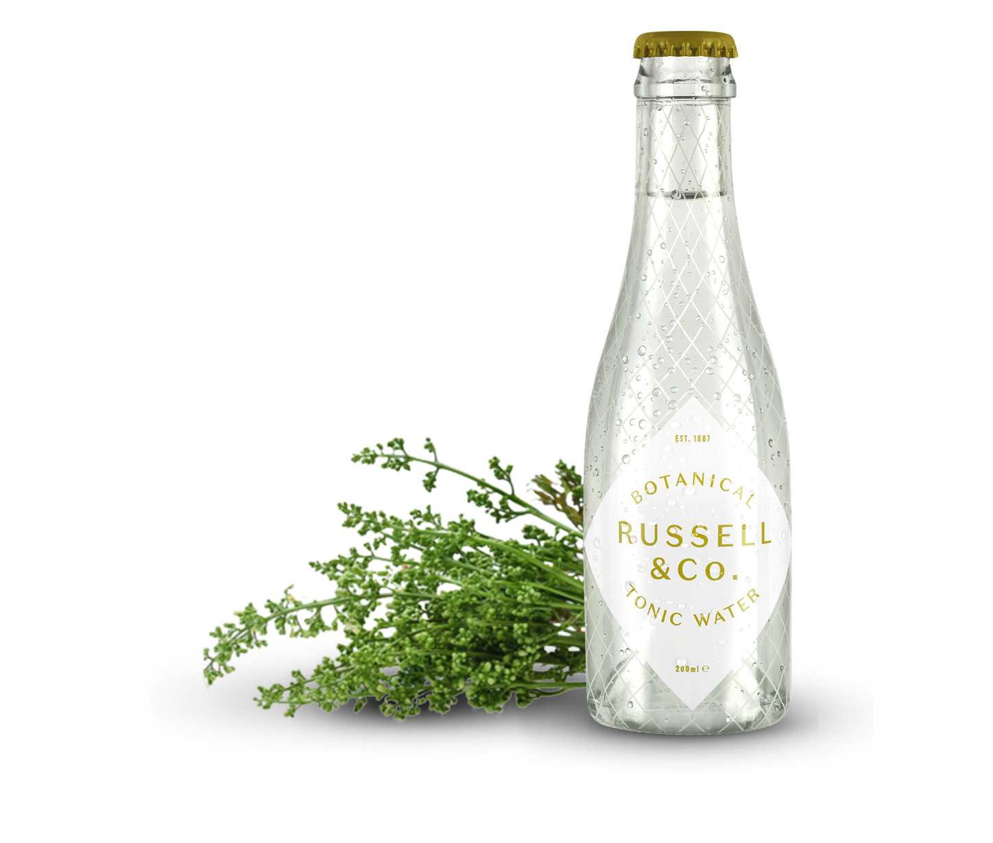 Russell & Co Botanical Tonic Water, Alles over gin.