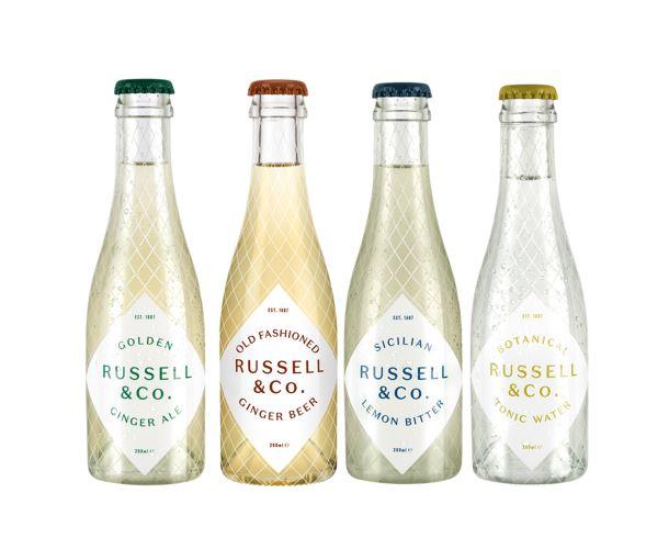 Russell & Co range van drankjes, Alles over gin.