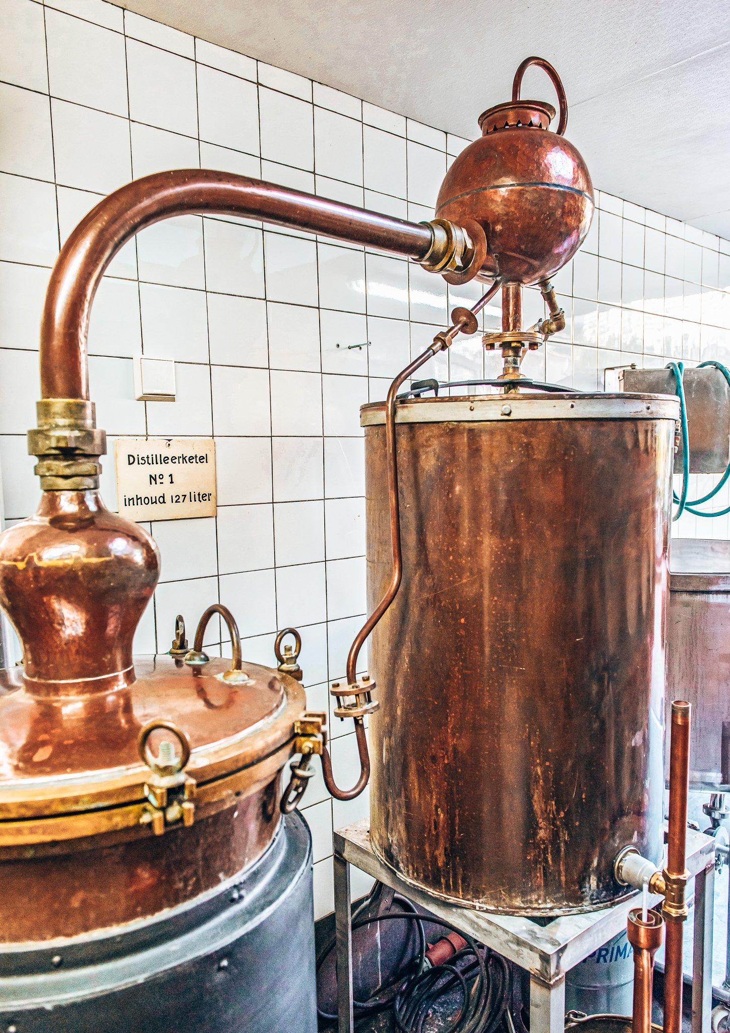 Distilleerketel Cley Distillery, Alles over gi.