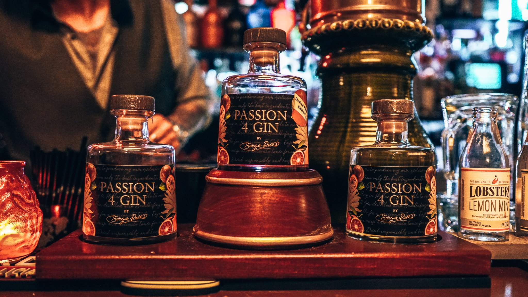 PASSION4GIN, Eetcafe De Kleine Prins, Alles over gin.