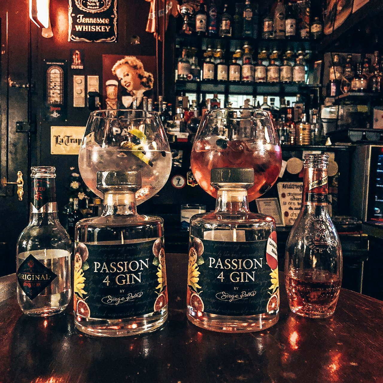 Perfect serve PASSION4GIN, Alles Over gin.