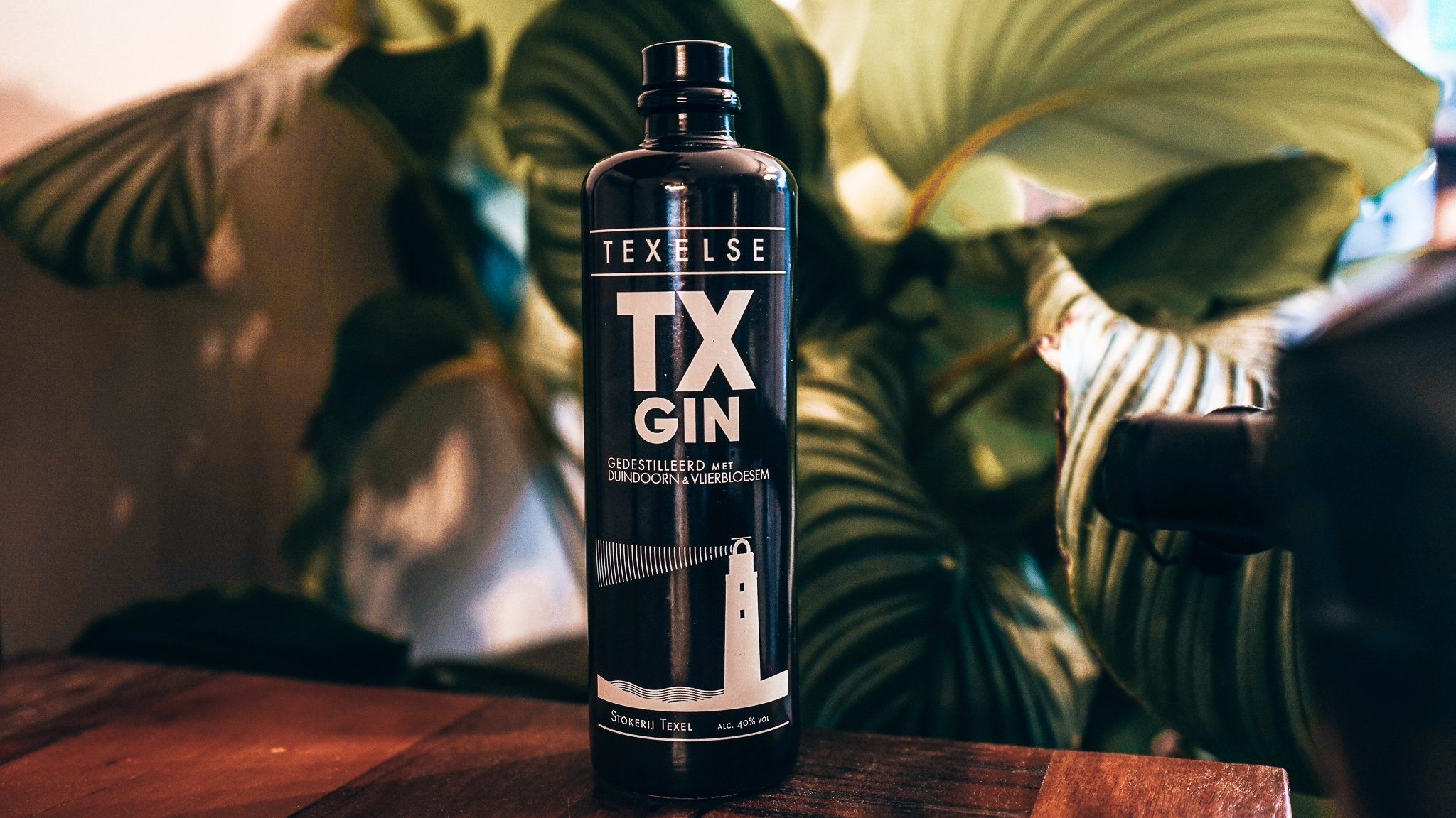 Fles van TX Gin, Alles over gin.