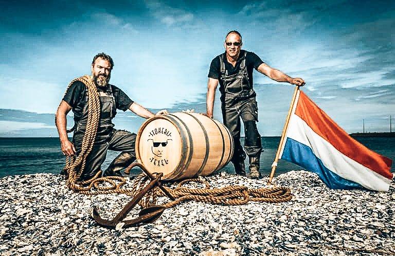 Jaco en Kees, eigenaren Stokerij Texel, Alles over gin.