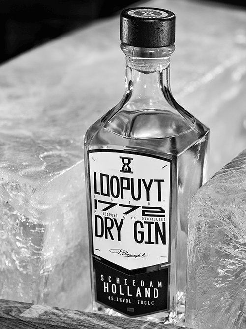 Loopuyt Dry Gin fles, Alles over gin.