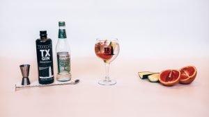 Perfect serve maken TX Gin, Alles over gin.