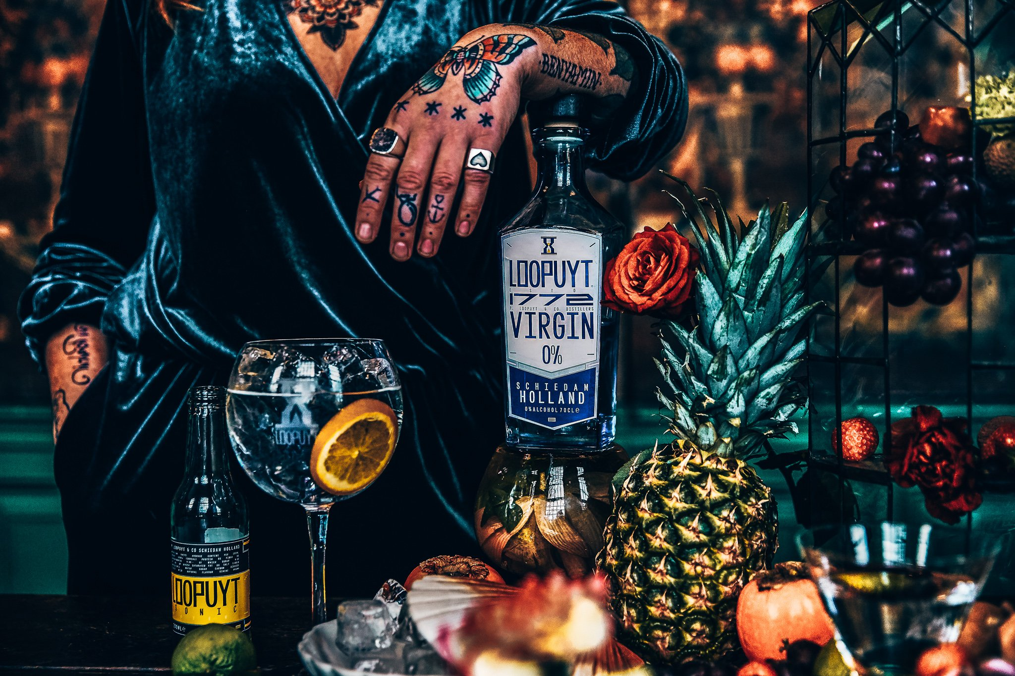 Perfect serve met Loopuyt Virgin 0%, Alles over gin.