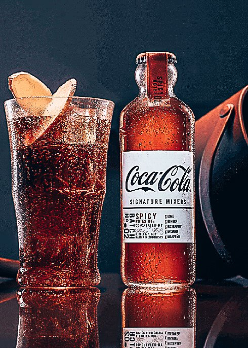 Coca-Cola Signature Mixers, Spicy Notes, Alles over gin.