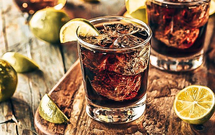 Cuba Libre, cocktail, Alles over gin.