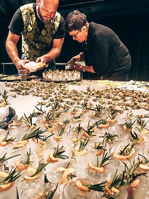 Roy en 500 cocktails voor de gemeente Zutphen, Mixxim Lounge, Alles over gin.