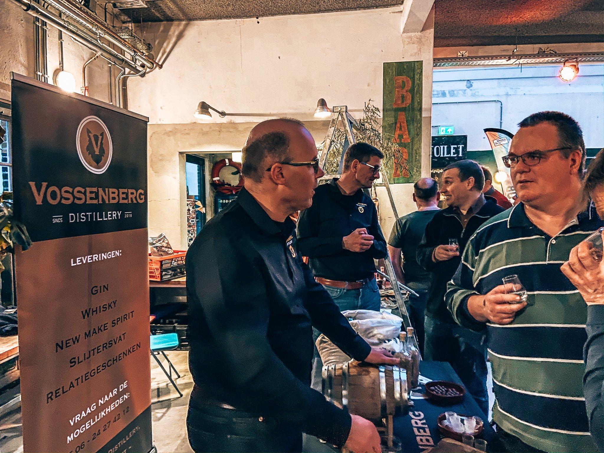 Vossenberg Distillery, Binnenlands Gedistilleerd, Fooddock Deventer, Alles over gin.