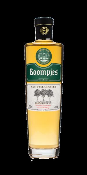 Boompjes Maltwine Genever, Distilleerderij Onder de Boompjes, Alles over gin.