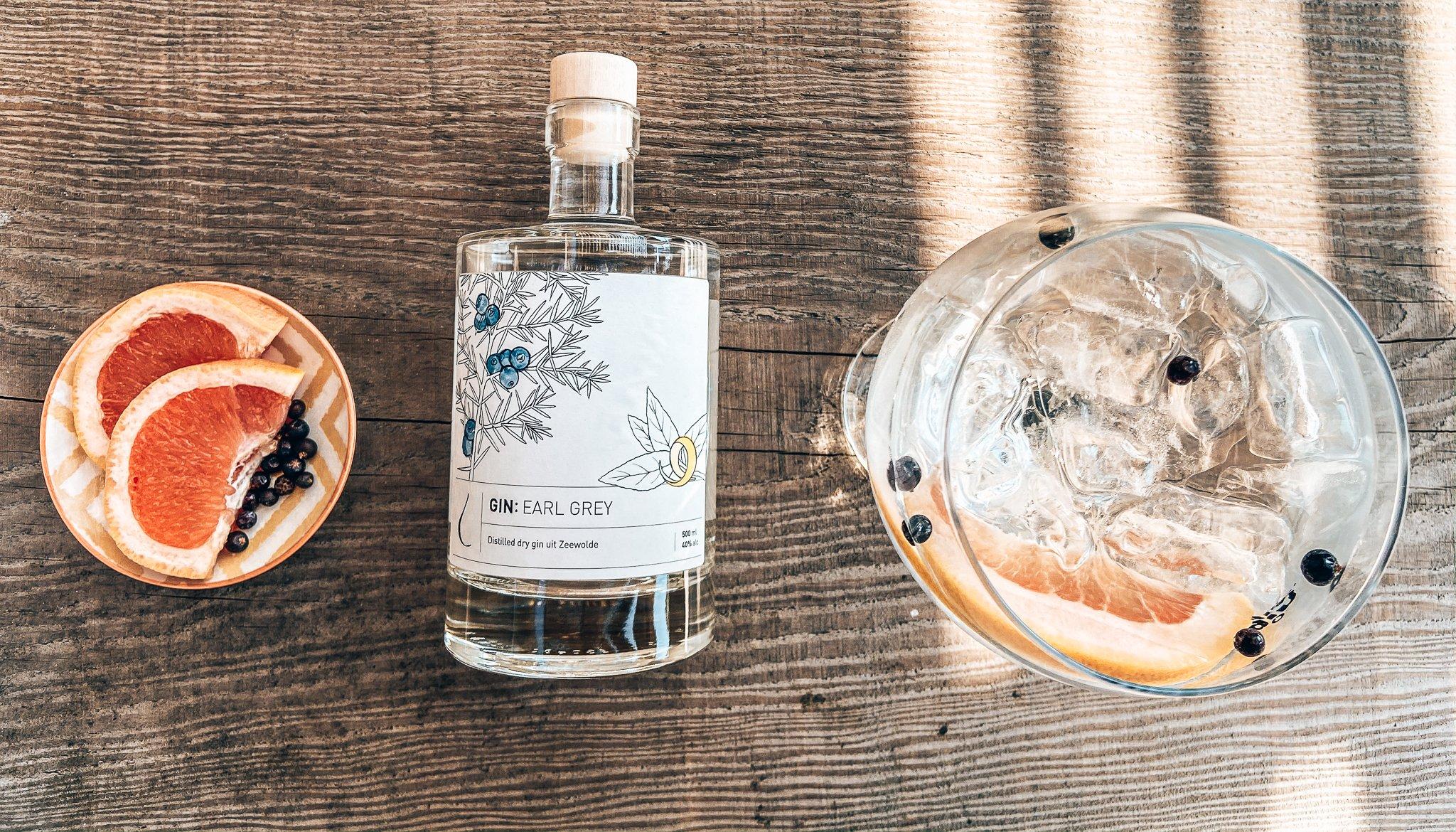 Earl Grey Gin, perfect serve Earl Grey Indian, Alles over gin., De Kleine Distilleerderij