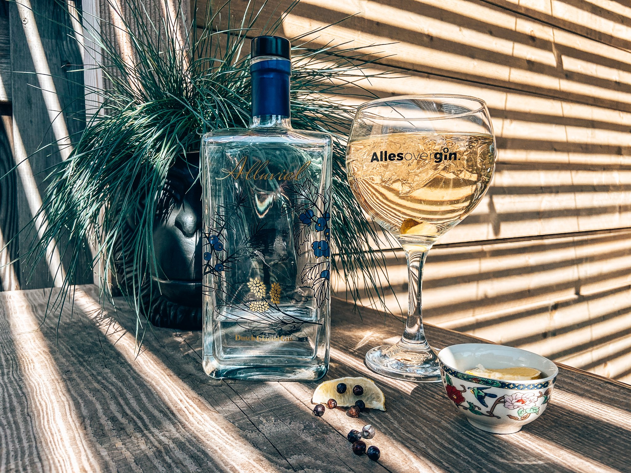Recept Perfect Alluvial serve, Alluvial Gin, Drumlin Distillery, Havelte, Alles over gin.