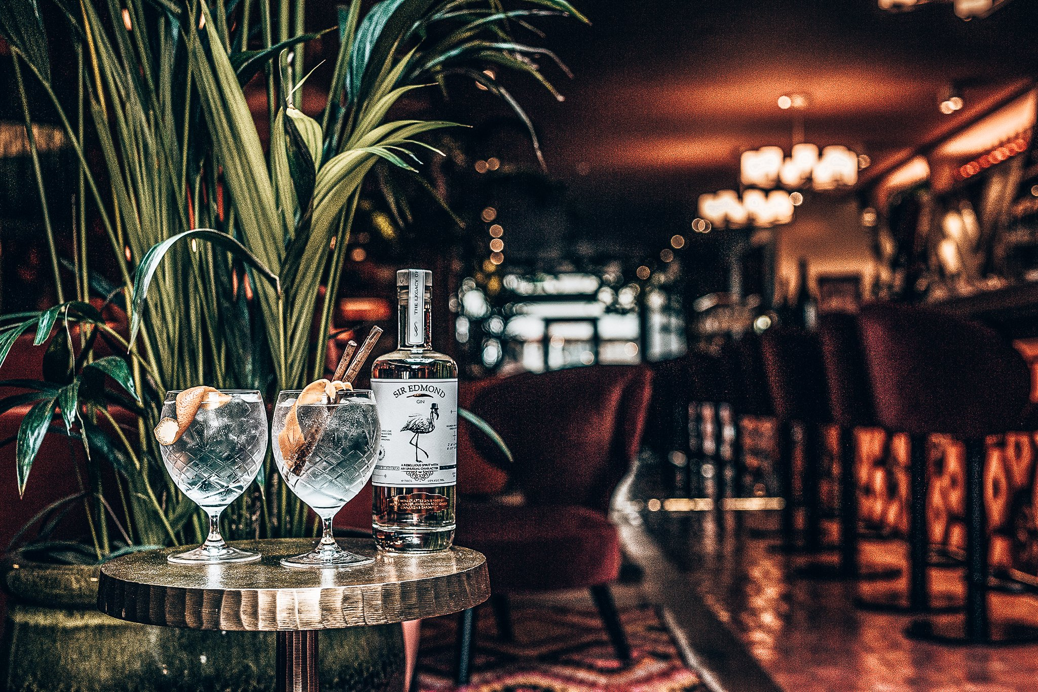 Sir Edmond Gin, Bourbon vanille infused gin, Alles over gin.