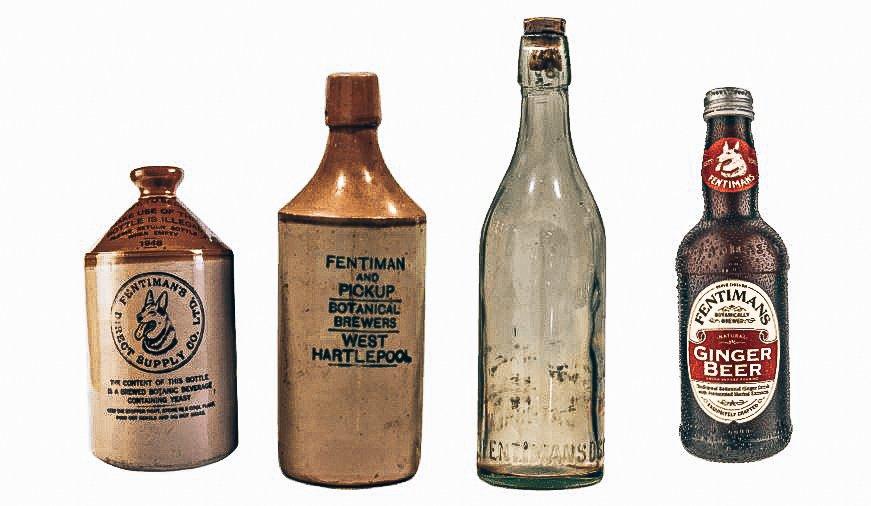 Fentimans flessen en kruiken, Alles over gin.