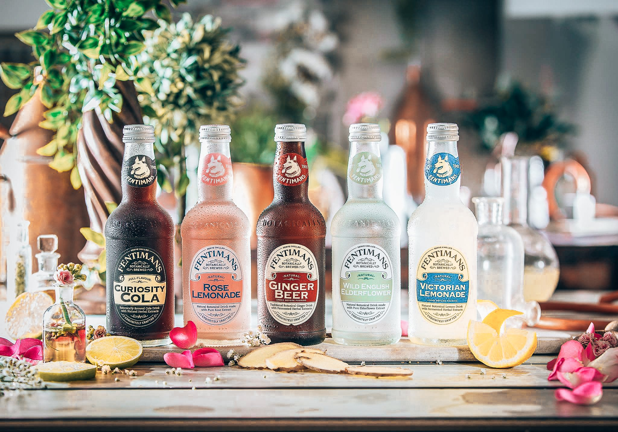 Fentimans, spotlight tonic, Craft Drinks, Alles over gin.